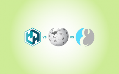 Historia VS Wikipedia VS Everipedia